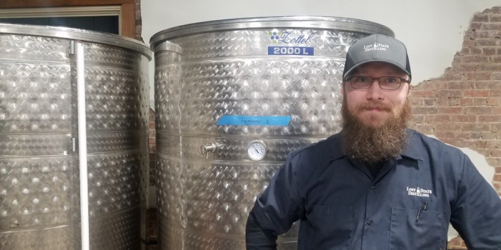 Nick Bianchi is president and head distiller of Lost State Distilling. – Mark Engler
