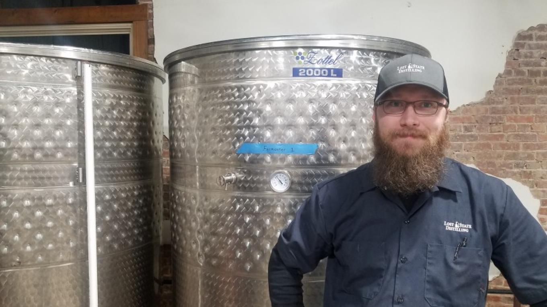 Nick Bianchi is president and head distiller of Lost State Distilling. – Mark Engler