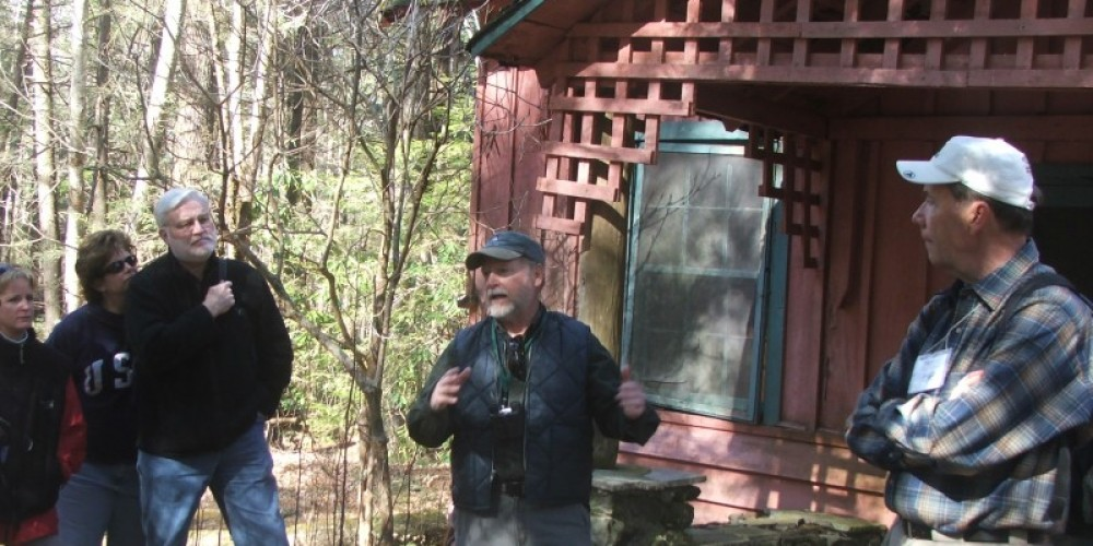 Tour of Historic Elkmont area during the Winter Heritage Festival – Townsend Visitors Center