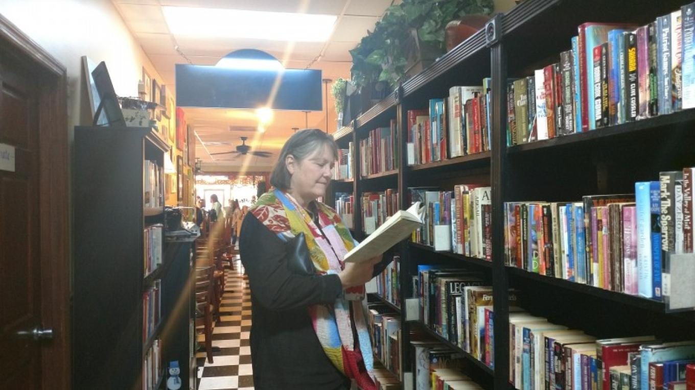 A look at the lending library. – Andrew Wheatley