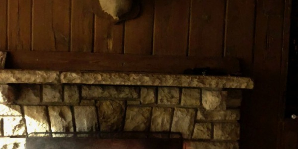 Cozy fireplace. – Susan Jones