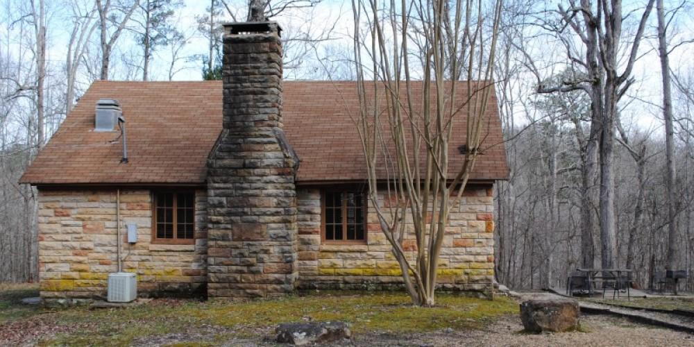 Native Rock cabin built by WPA. – Gary Mathews