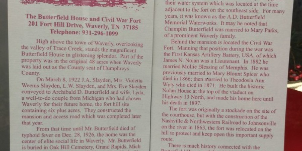 Humphreys County and Civil War Museum – Andrew Wheatley