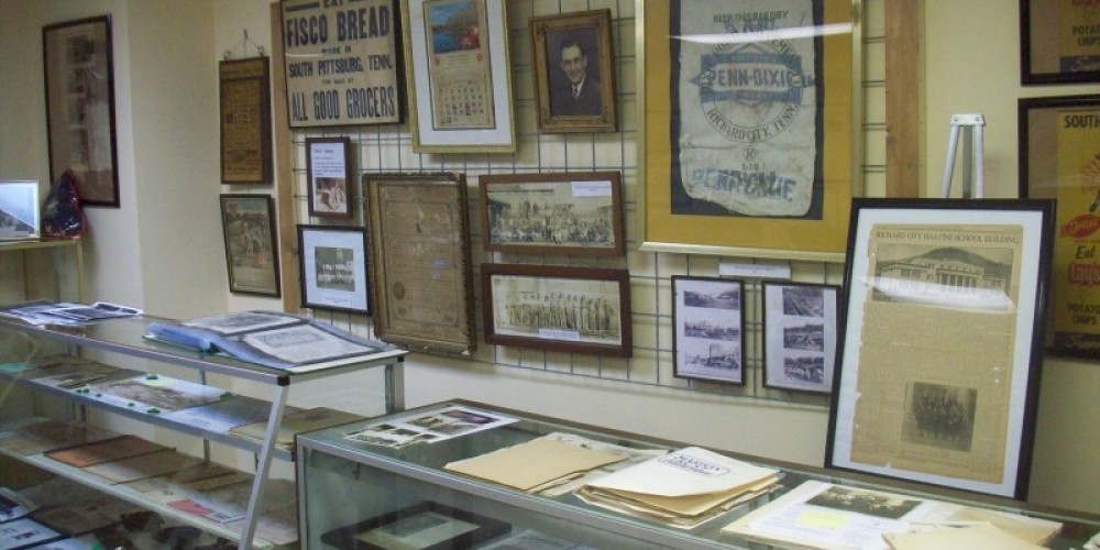 The South Pittsburg Heritage Museum features hundreds of historic items representing South Pittsburg's rich and diverse past. – Dennis Lambert