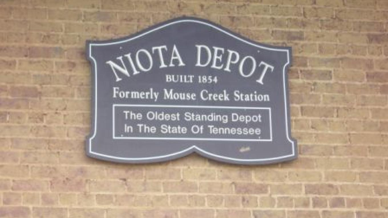 Historic Depot Sign – Southeast Tennessee Tourism Association