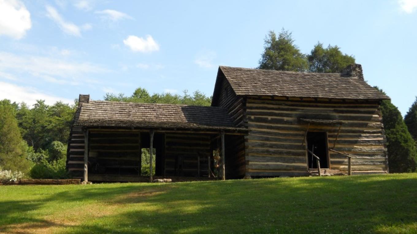 John Sevier Cabin and detached Kitchen – Anna Chappelle