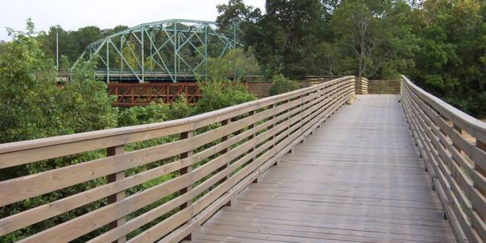 Over 4500 feet of new boardwalk. – Brian Smith
