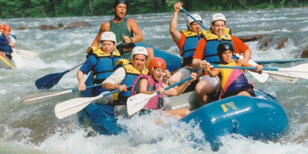 Whitewater Rafting in front of OWWC – Dan Kaufmann