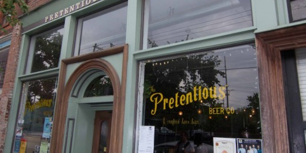 Pretentious Beer Co in Old City Knoxville – Brad Weigmann