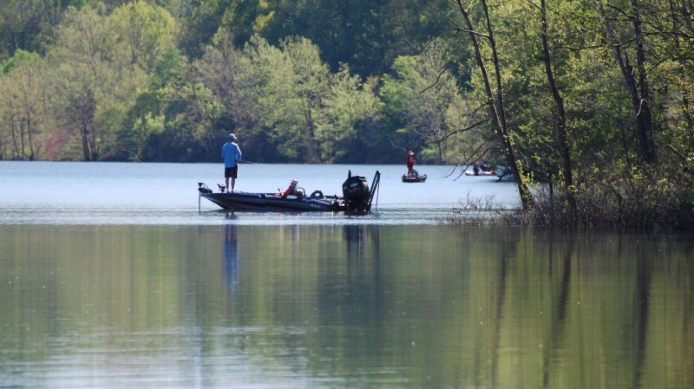 Kentucky Lake's got the fish. Just bring your rod and reel!