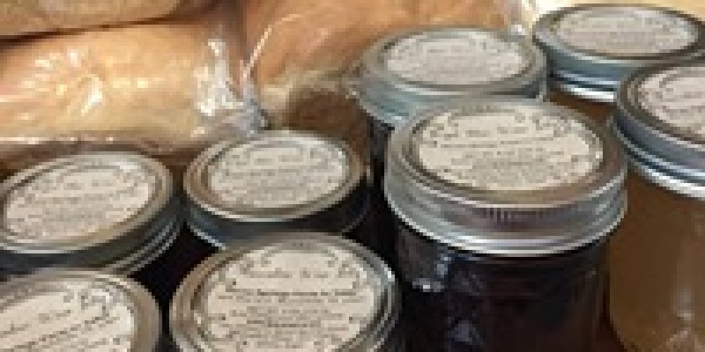 Fresh breads and jellies. – Beth Bergeron