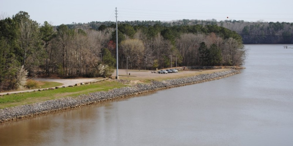 Fishing area on the North side – James Gibson