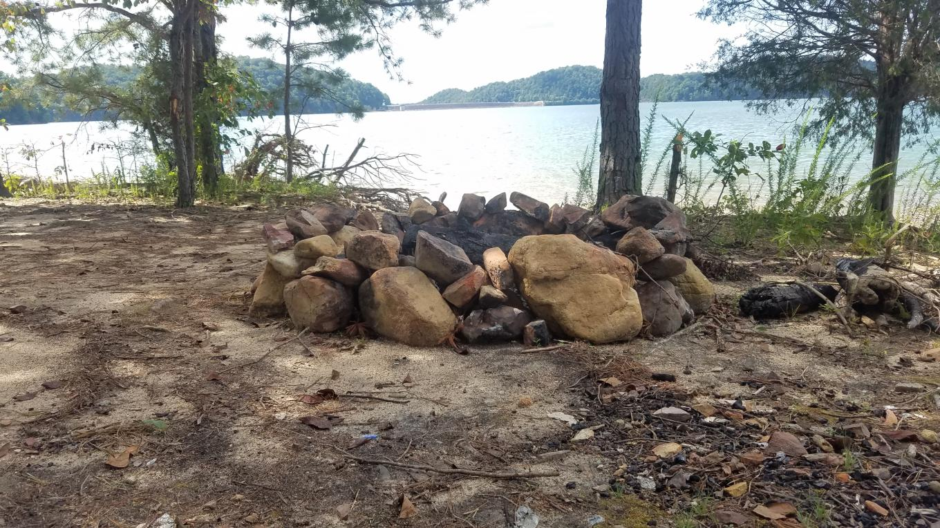 Backcountry campsites along the shores of South Holston Lake offer exquisite opportunities for leaving behind whatever is ailing your sense of wellbeing. – Mark Engler