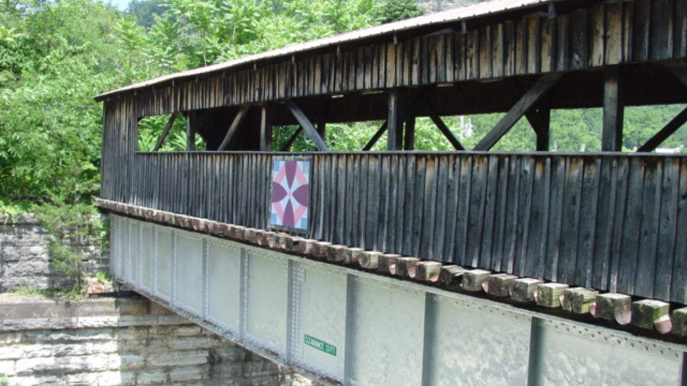 Covered Bridge – Steve Roark