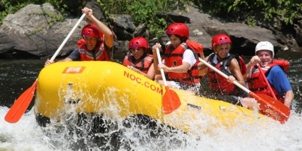 Book whitewater rafting adventures for the family. – Pat McDonnell