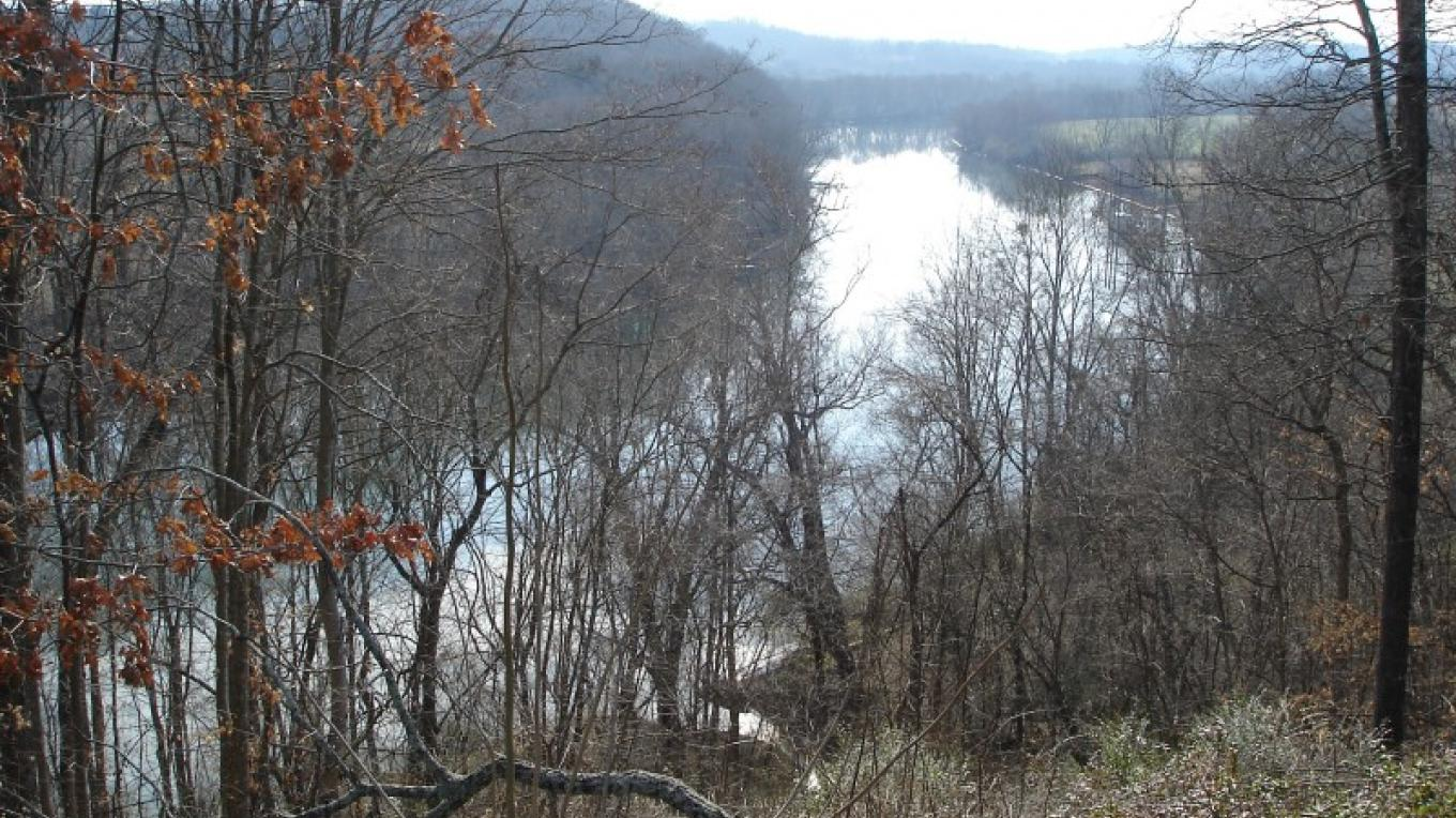 Winter view of the Hiwassee River – Melissa Woody