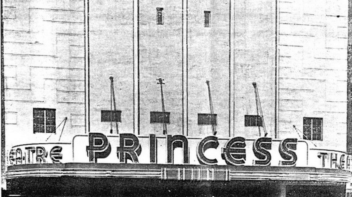 The Princess Theater in 1939 – Unknown