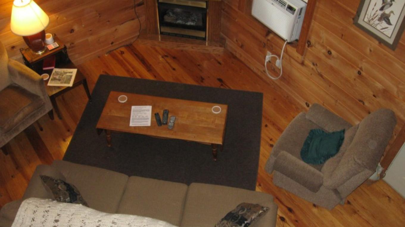 Living Room Cabin #4 – Patricia Scott