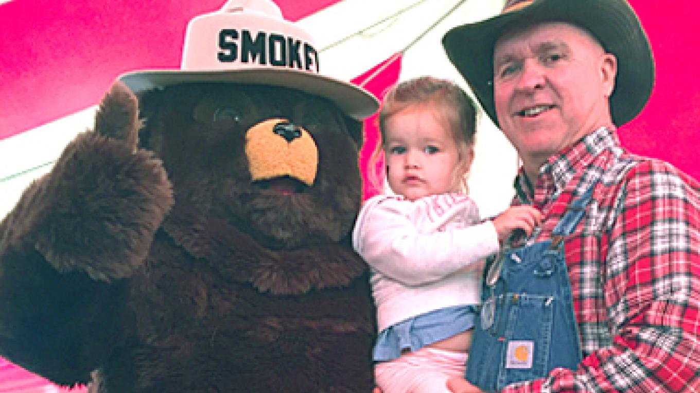 Smoky the Bear will be joining us again this year