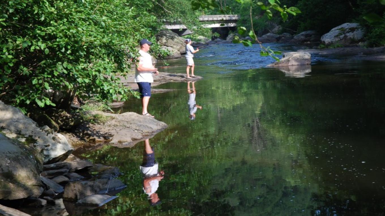 Fishing on the Tellico River – Jim Caldwell