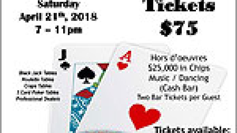 Casino Night fundraiser – Nicole Peels
