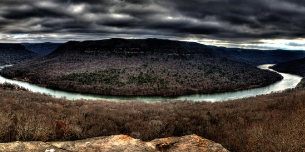 Winter view froom Snooper's Rock in Prentice Cooper State Forest. – Kevin Livingood