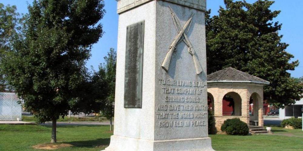 World War I Monument – Durant Tullock