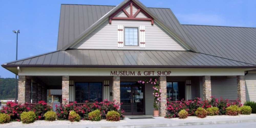 Charles Hall Museum and Gift Shop in Tellico Plains, TN.
