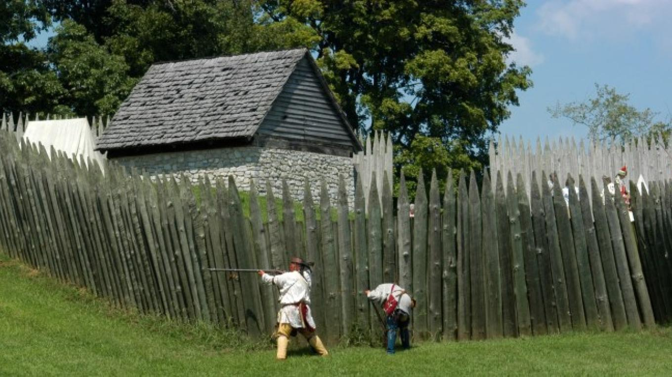 August Garrison at Fort Loudoun State Historic Area – State Photo