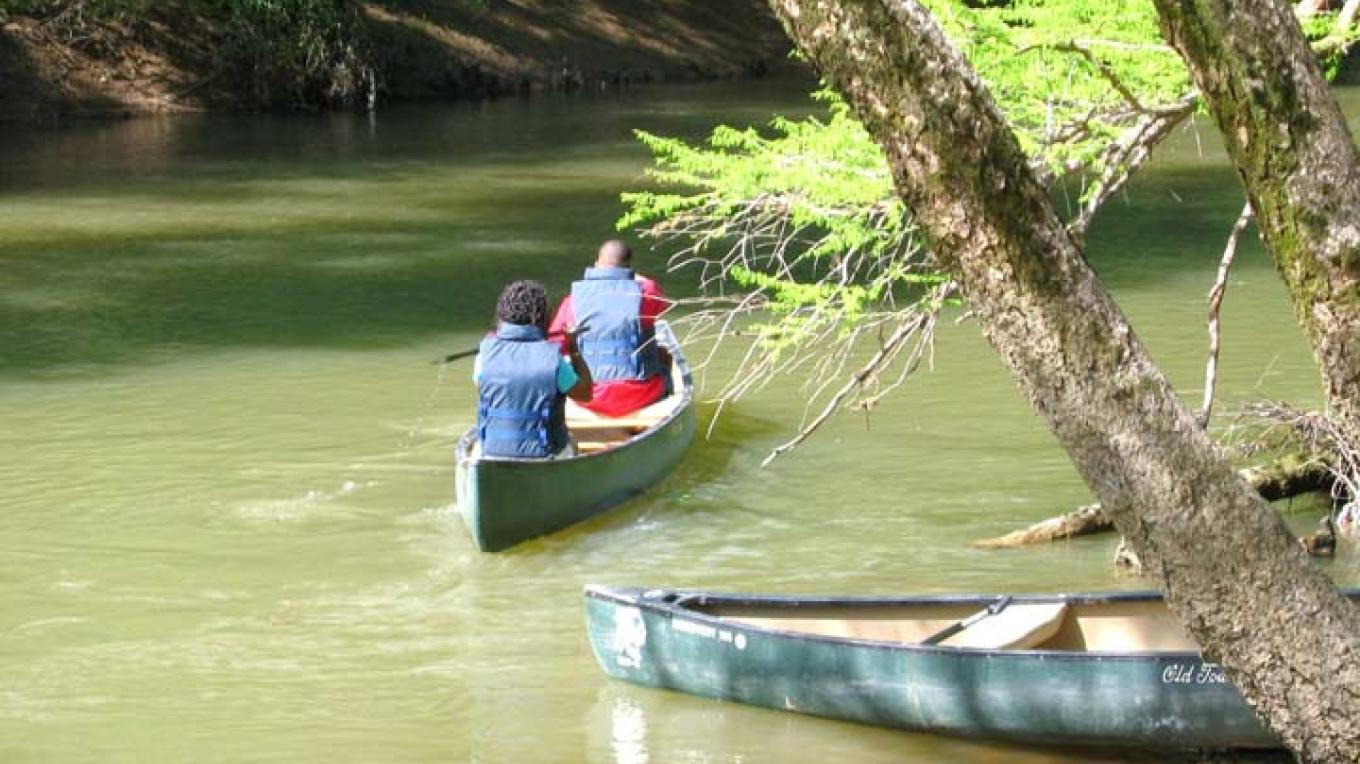 Canoeing on Bear Creek, MS – Tishomingo Tourism