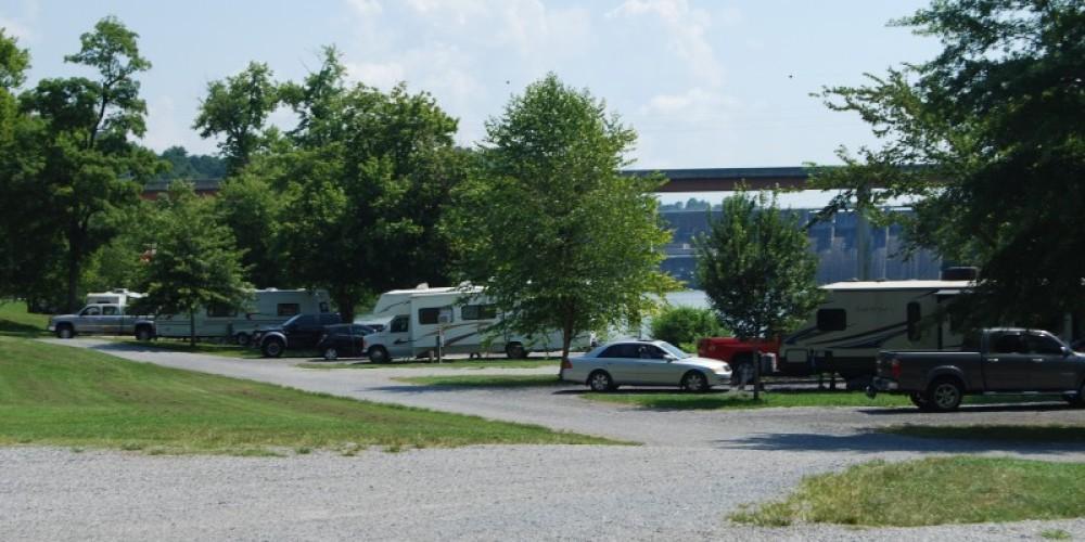 Tailwater RV camping area – TVA