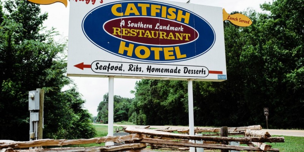 Hagy's Catfish Hotel is well known for their delicious catfish, hushpuppies, and southern hospitality. – Cari Griffith