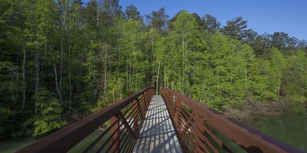 Coytee Bridge on East Lakeshore Trail system – TVA