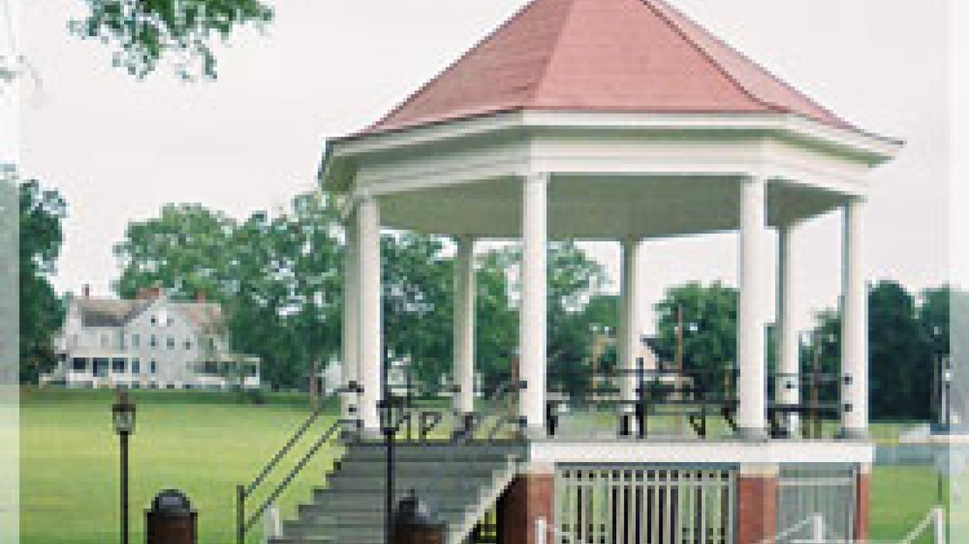 Historic Bandstand on Johnston Field (Parade Ground). – Provided by FO Tourism Association