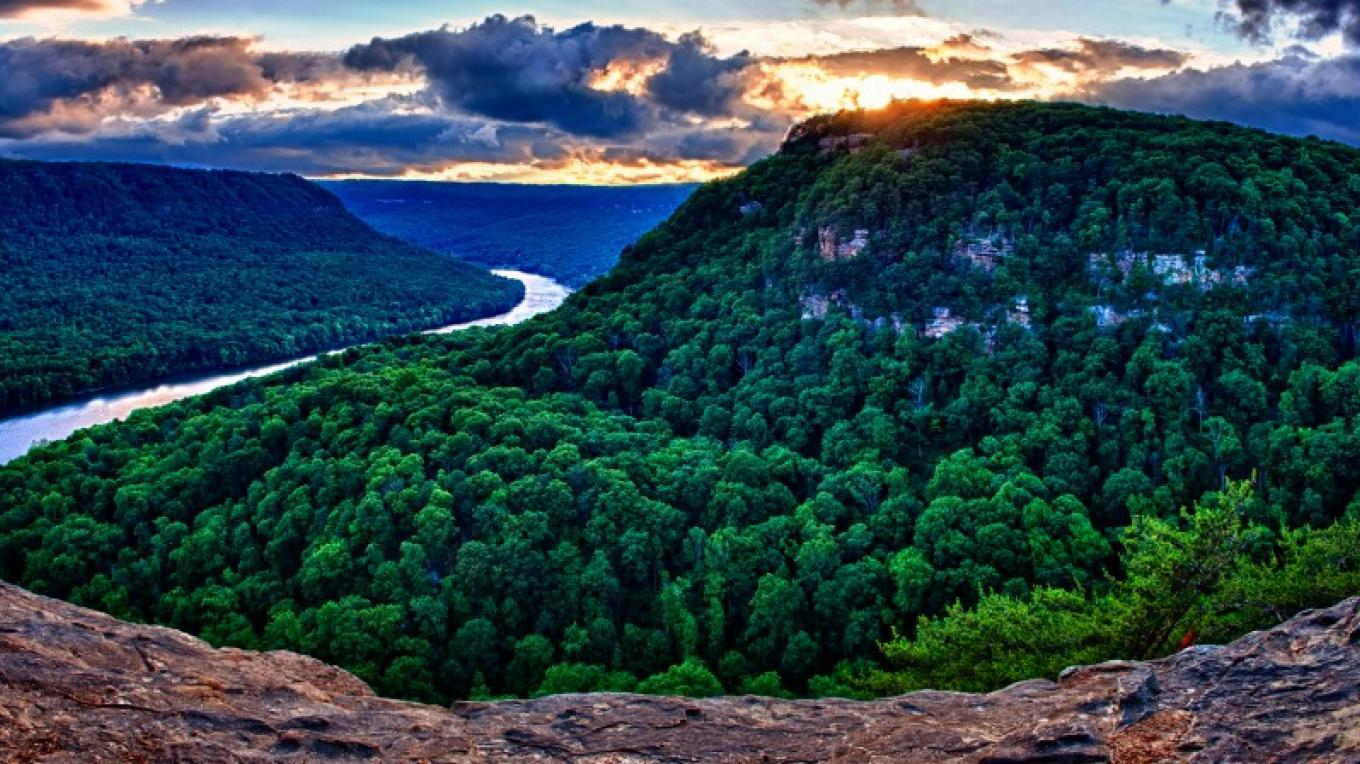 Sunset viewed from Signal Mountain. – Kevin Livingood