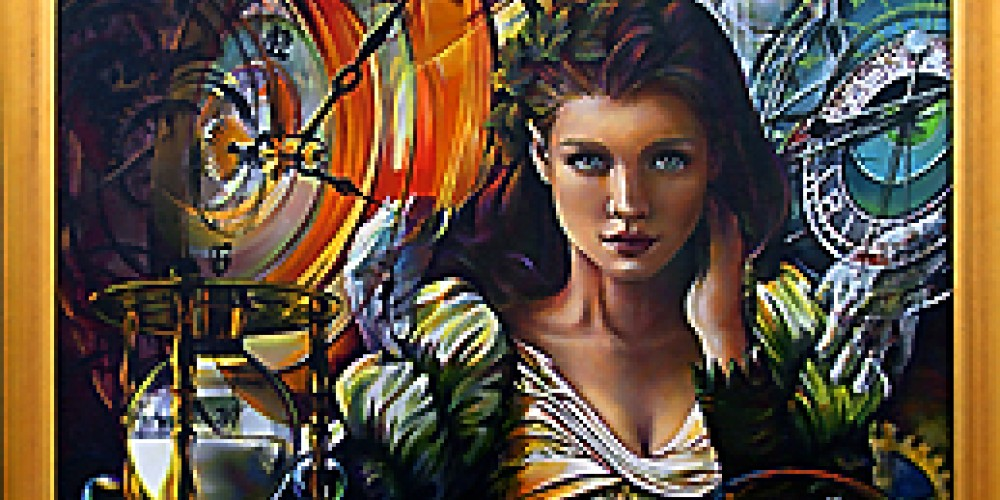 Passing of Time-original oil painting by Kathryn Rutherford ©2011