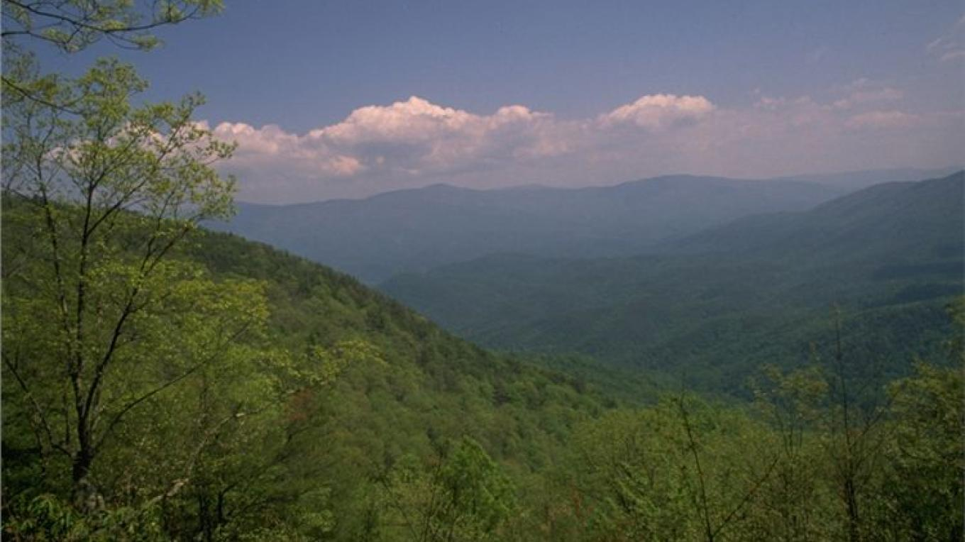 Overlook from Fort Mountain – GA State Parks