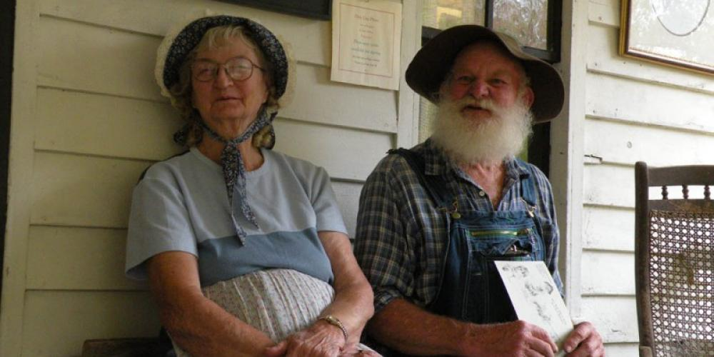 Red and Wilma Storytellers, real mountain folk – kjm